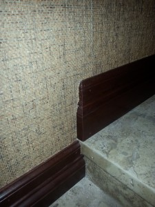 Texture wallpaper pattern installed by Professional wallpaper hangers in Portland, Oregon